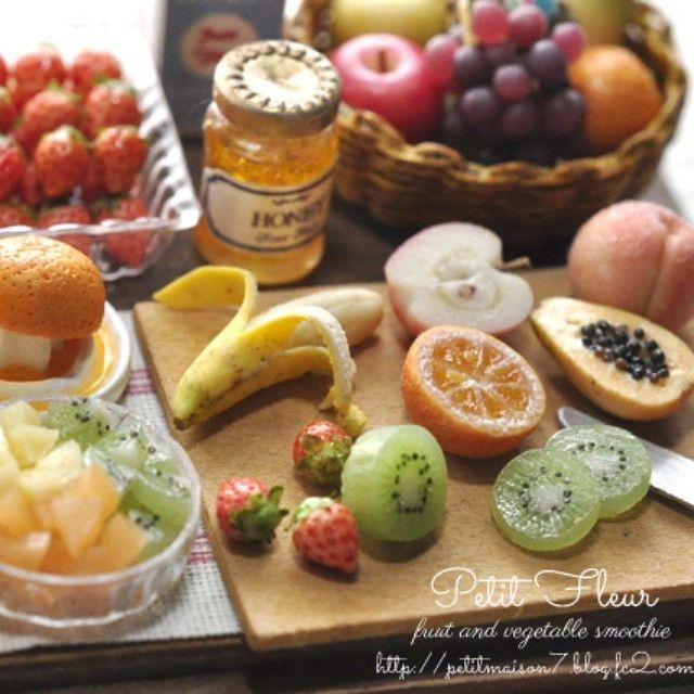 Miniature fruits ミニチュアフルーツ #ミニチュア#ミニチュアフルーツ#ドールハウス#ハンドメイド#miniature#miniaturefood#miniaturefruits#dollhouse#handmade