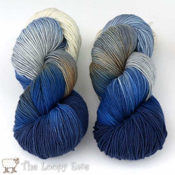frosty in socks that rock heavyweight from blue moon fiber arts at