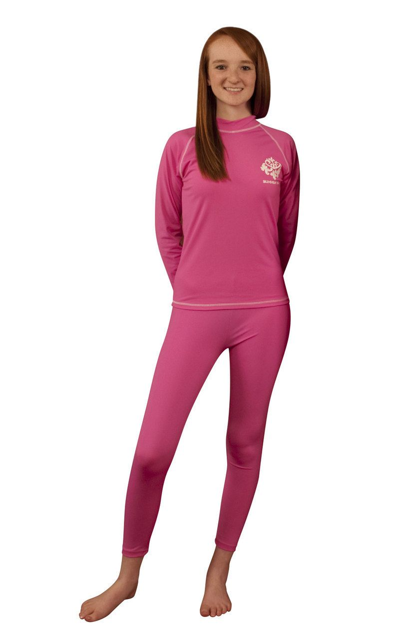 49db7055 Girls Swim Tights - Swim Pants - sizes 4-14 by Sun Emporium | Swim ...