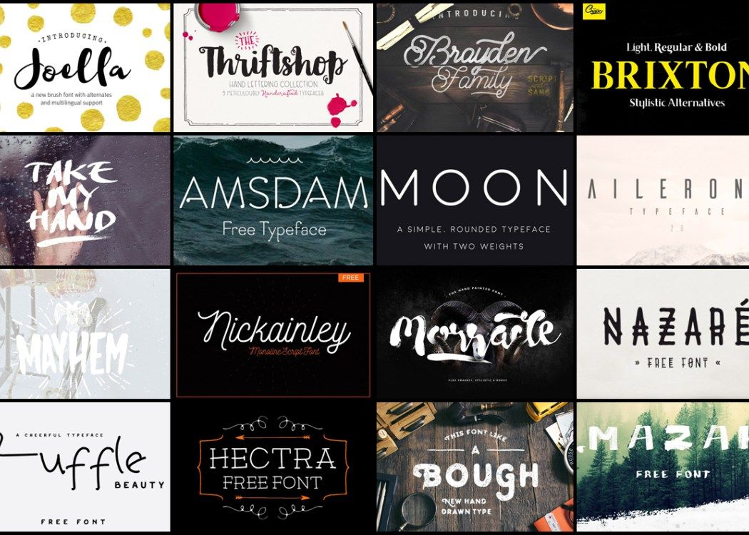 Download Top 50 Creative Free Fonts of 2015 That You Should ...