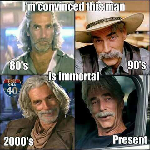 Image result for sam elliot memes