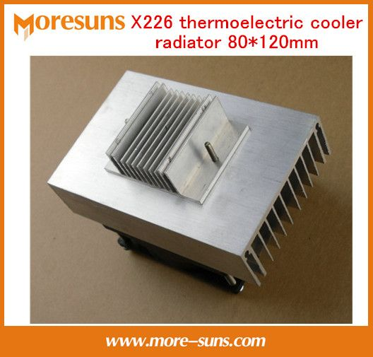 Free Shipping X226 Thermoelectric Cooler Radiator 80 120mm Cooling