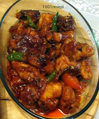 koleksi1001resepi: sambal ayam