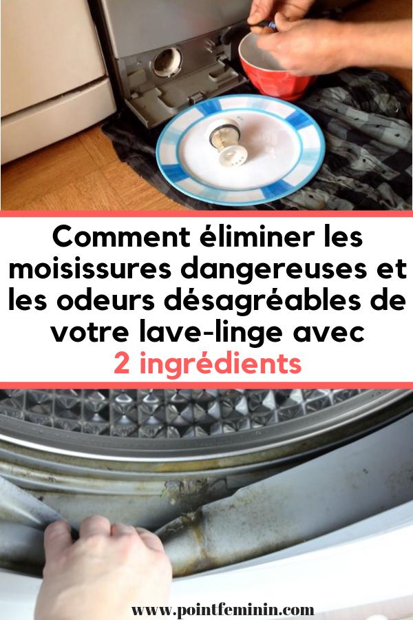 5600a7f9da516 L Astuce Pour Enlever Facilement la Moisissure dans la Machine à Laver.   vetement  lavelinge  nettoyer  machine  maison