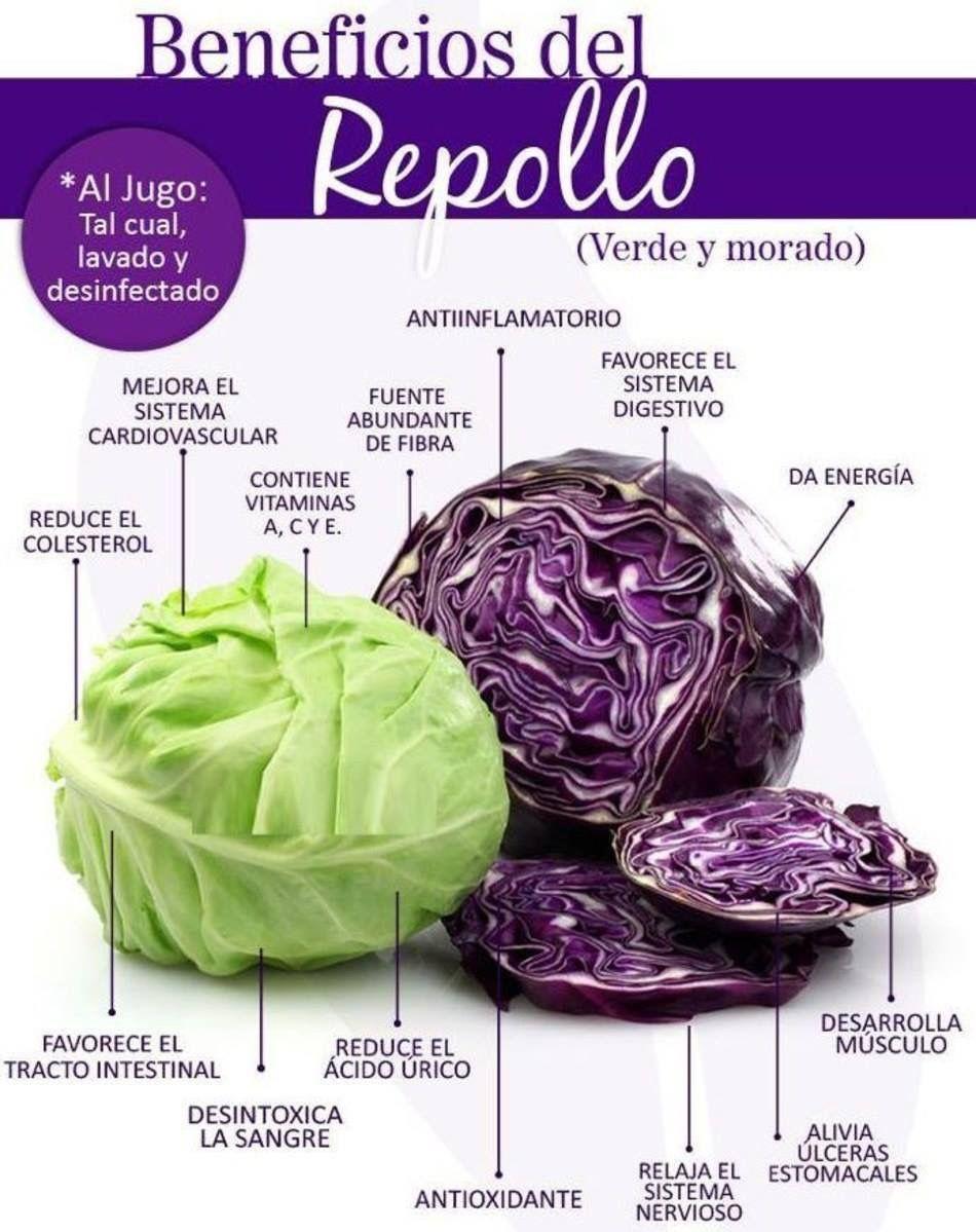 Pin de beatriz gallegos en cocina frutas y verduras for Cocinar lombarda