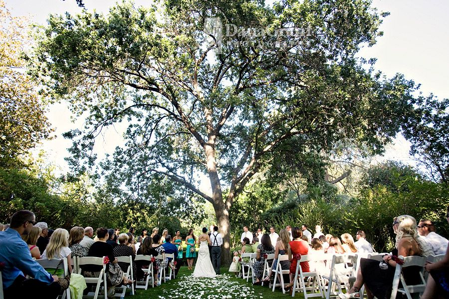Wedding In Orcutt Ranch I Want To Get Married Under A Tree