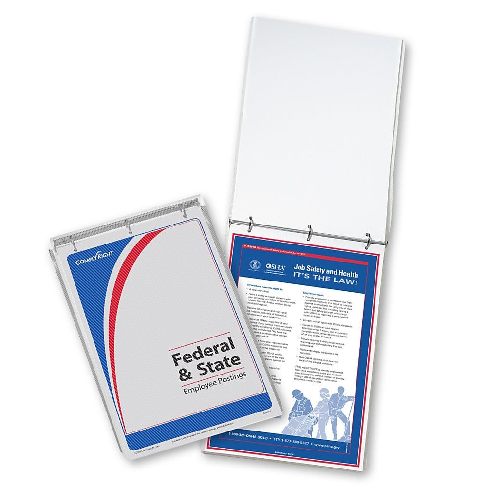 ComplyRight Federal/State Remote Worksite Labor Law Binder