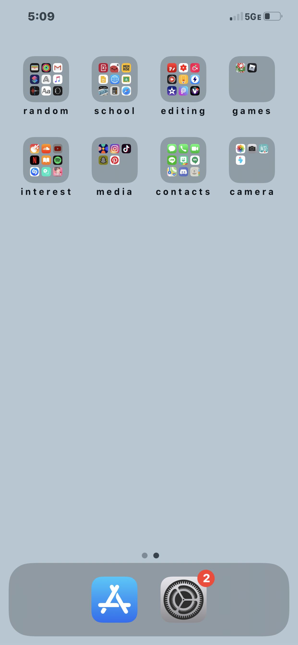 Simple Basic Phone Organization Iphone Organization Phone Organization Organize Phone Apps