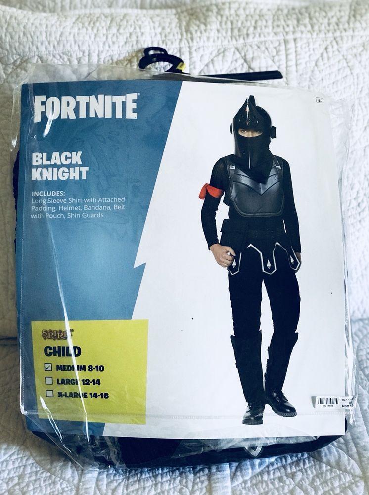 Fortnite Black Knight Costume Youth M Spirit Halloween Arrive 1