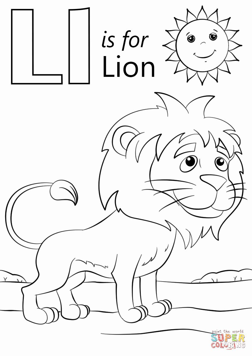 Letter L Coloring Pages Best Of L Is For Lion Coloring Page Lion Coloring Pages Kindergarten Coloring Pages Preschool Coloring Pages