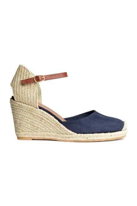 nuevo producto ffe11 4b879 Alpargatas con cuña | cuña | Alpargatas cuña, Zapatos taco ...