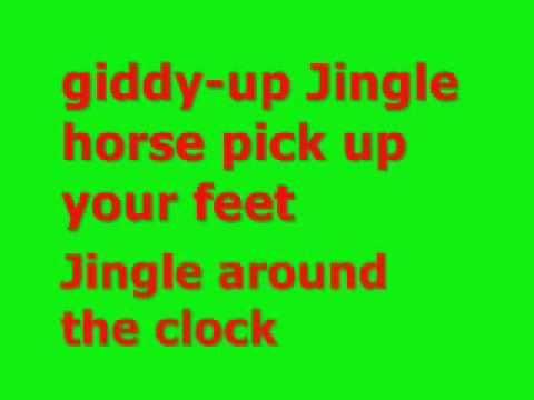 Jingle Bell Rock Lyrics Navidad Musica Maestro De Musica Actividades