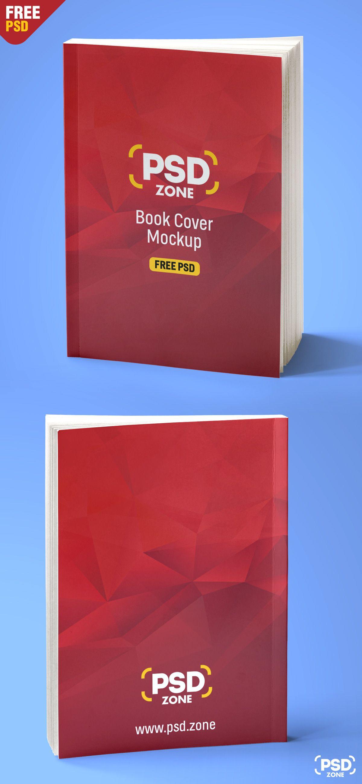 Realistic Book Mockup Free PSD | Presentation mockups (free) | Pinterest