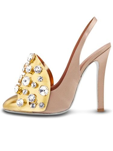 Yves Saint Laurent embellished shoe