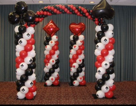 casino night prom party decor sterling events group inspiring event themes pinterest entrance events and night parties - Casino Party Decorations