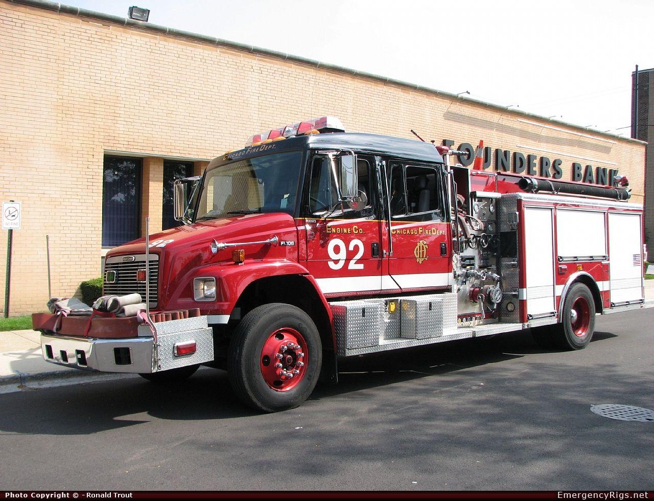 Chicago fire dept engine 92