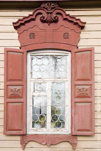 Деревянный наличник Иркутска №23