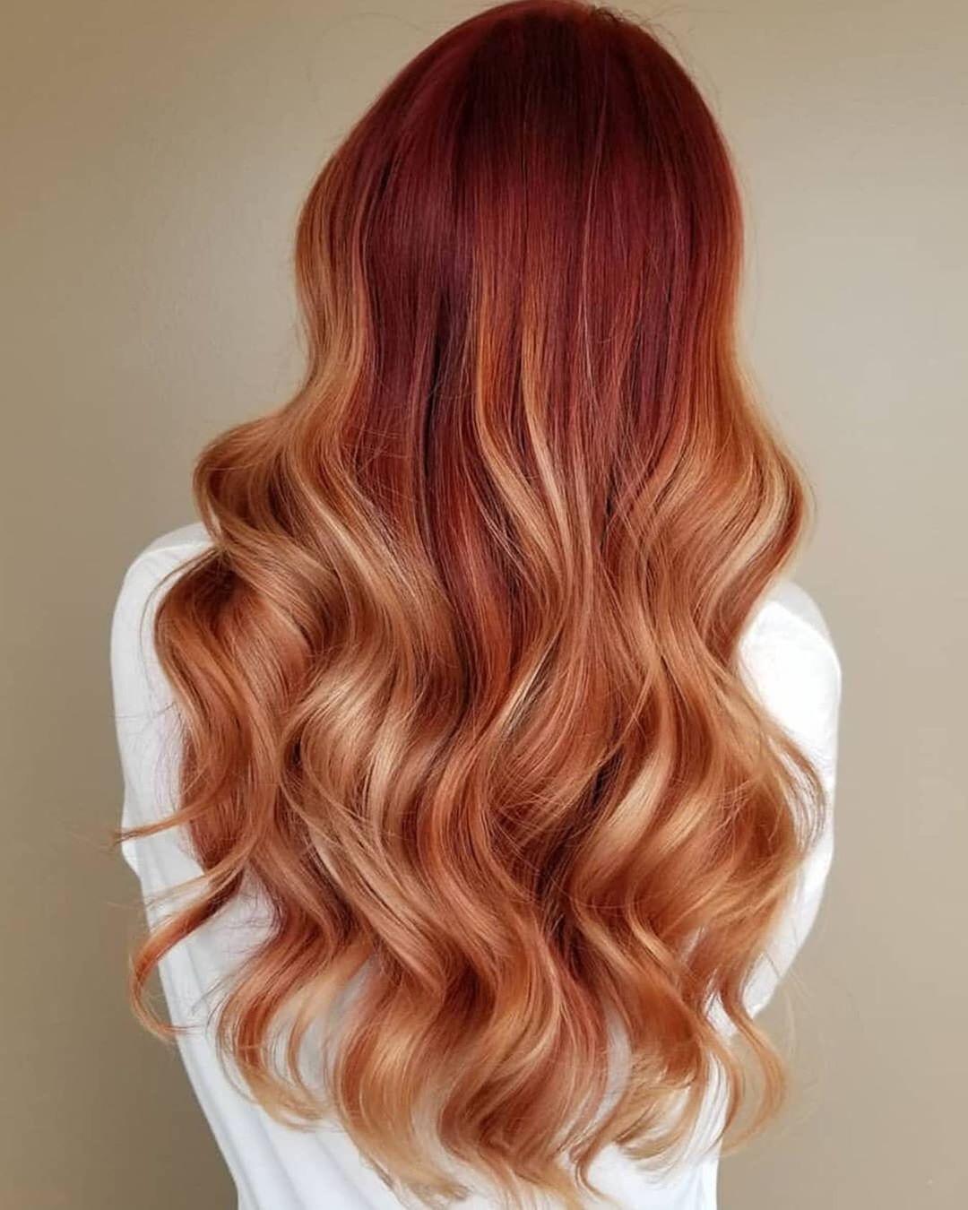 Das schönste braune Haar im Herbst und Winter 2019