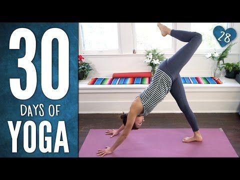 30 Days Of Yoga Day 28 30 Day Yoga Yoga Day Yoga With Adriene