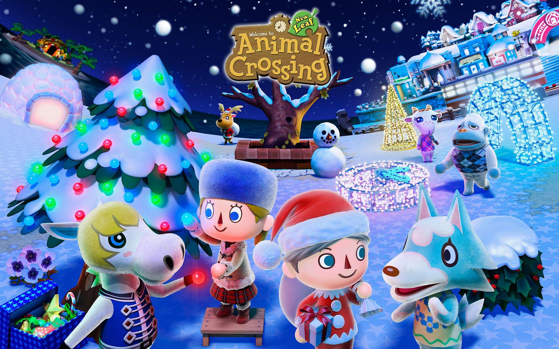 Animal Crossing: New Leaf Wallpaper HD - http://imashon.com/w/animal ...