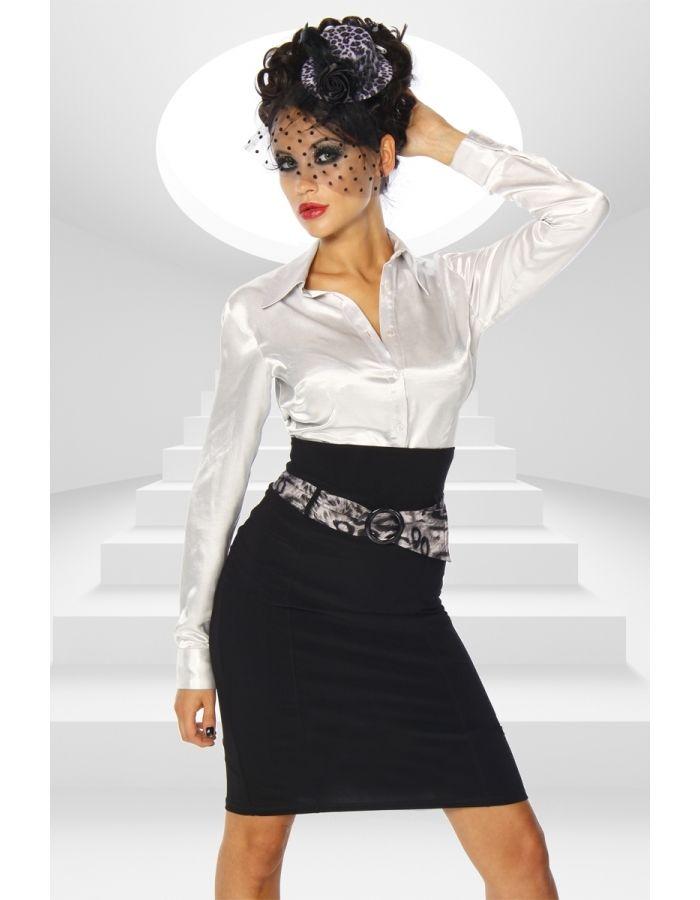 Falda negra alta  http://vestidosfiesta.org/faldas/31-falda-cinturon.html