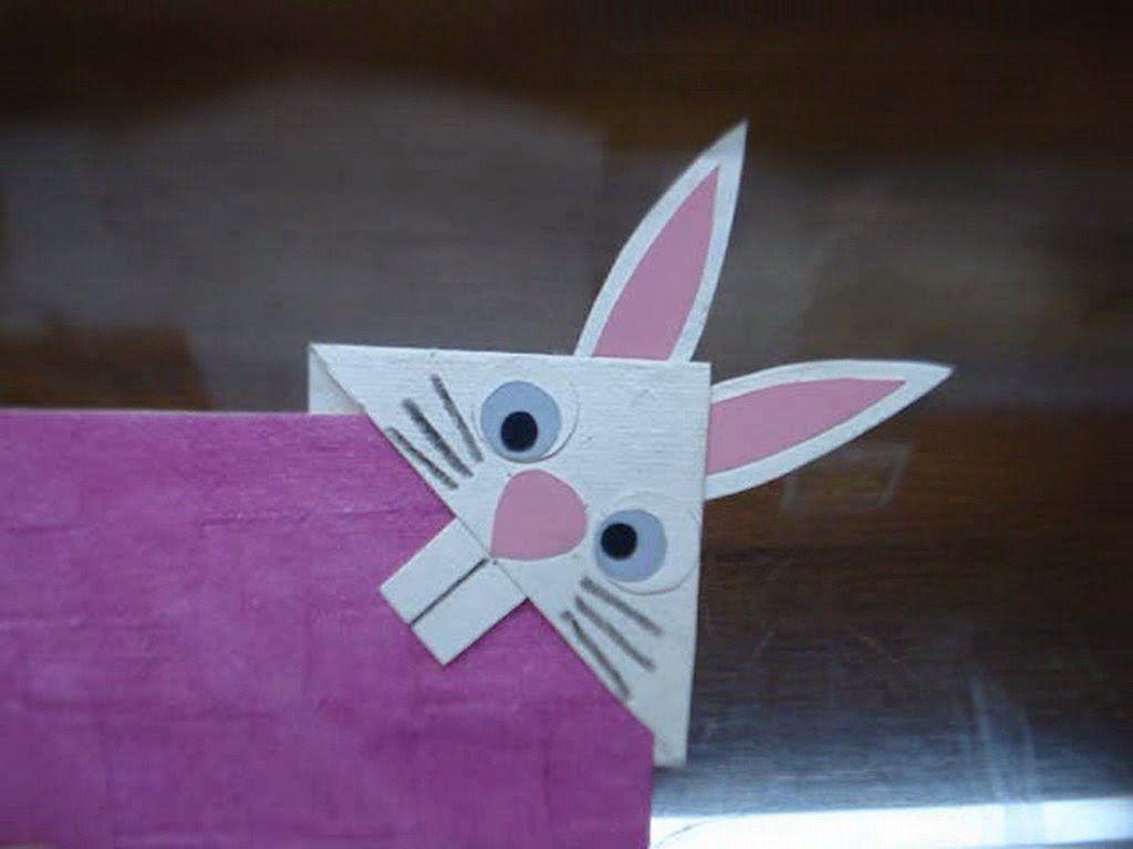 Diy how to make bunny rabbit bookmark youtube
