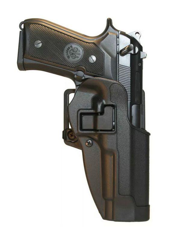 Tactical CQC Concealment Left Hand Waist Pistol Holster for Beretta 92 96 M9 M92