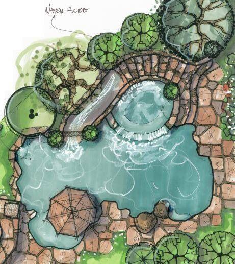 Pin by designbc on pools spas swim ponds landscape for Pool design concepts