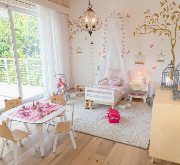 Girls Bedroom Ideas For Every Child: Toddler Rooms, Kid Room Decor, Girl Room