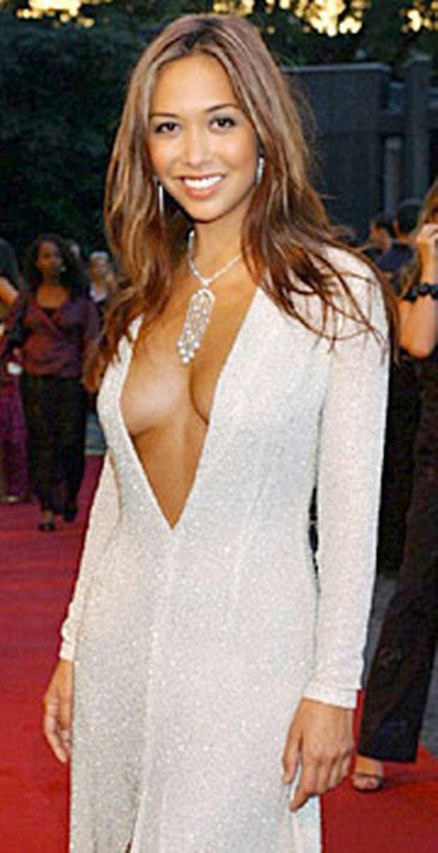 5594f3d99892 Myleene Klass in white dress