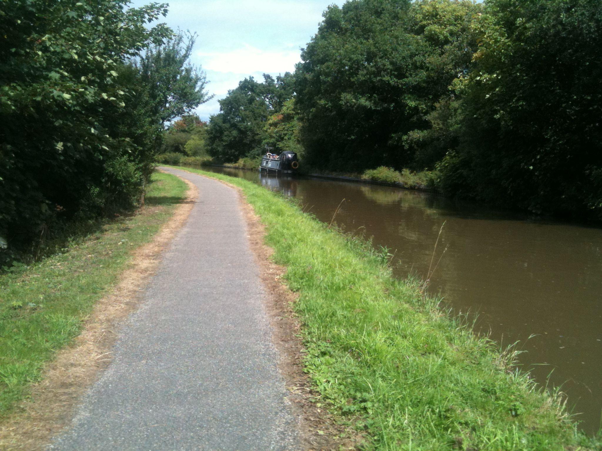 Summer jogging route... Christleton Summer, Route, Places