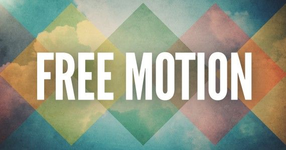 free motion background for spring from centerline new media free