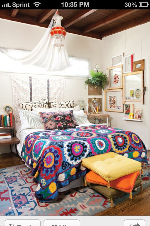 Room Decor · 10 Tell Tale Signs That Your Home Style Is: Bohemian