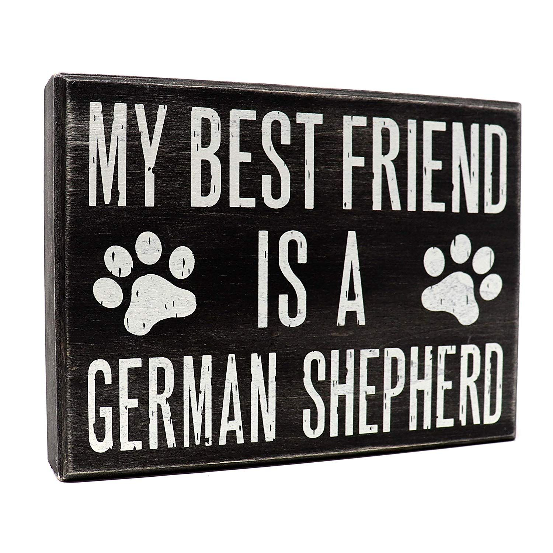 My Best Friend is a Labrador Retriever Wooden Stand Up Box Sign ... JennyGems