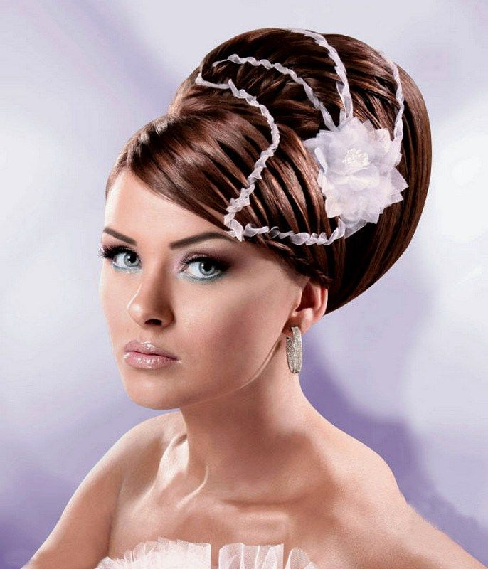 Asian Bridal Hairstyle : Awesome asian bridal hairstyle designs fashion 2016 for modish