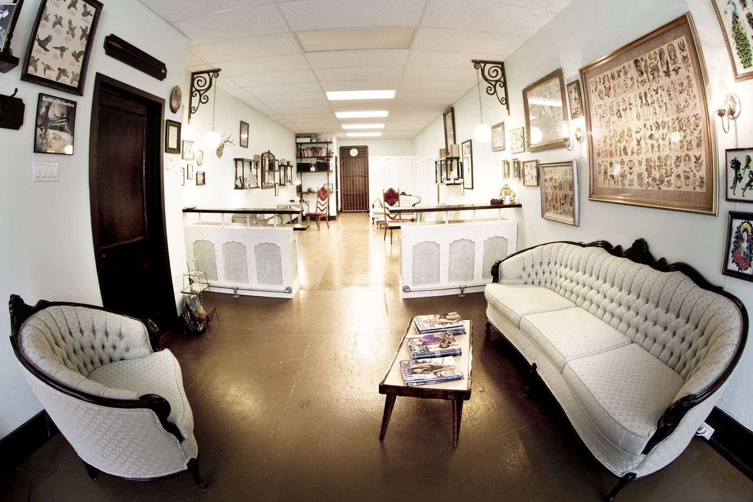 tattoo shops … Interior Design Tatto…
