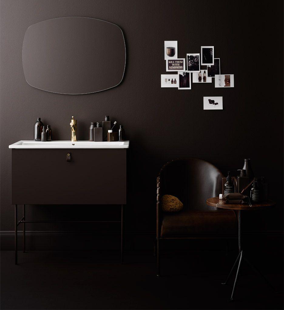 Fredrik Wallner\'s updated bathroom furniture collection for Swedish ...