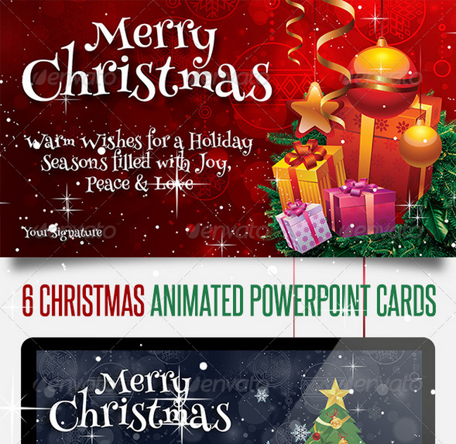 Animated Christmas Powerpoint Slides Miscellaneous Powerpoint Templates Prese Christmas Powerpoint Template Powerpoint Animation Animated Christmas