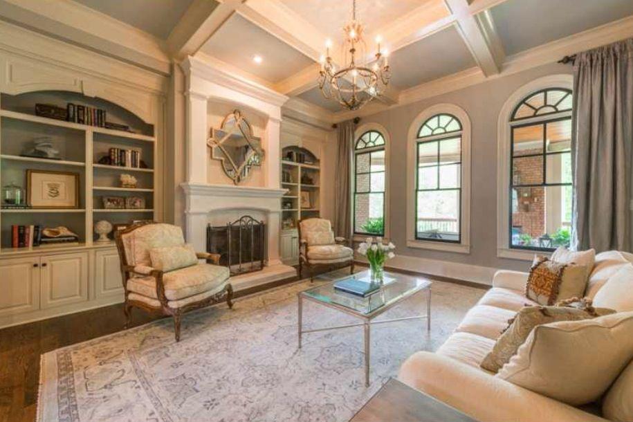 French-inspired formal living room.   Formal living rooms ...