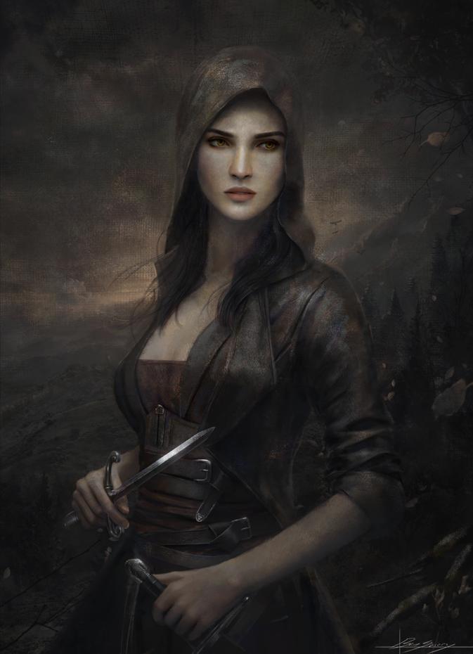 Female Assassin Character Portraits Fantasy Rpg Fantasy