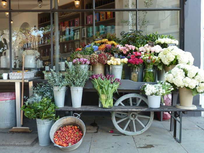 Characteristic Flower Cart in London                                                                                                                                                                                 More
