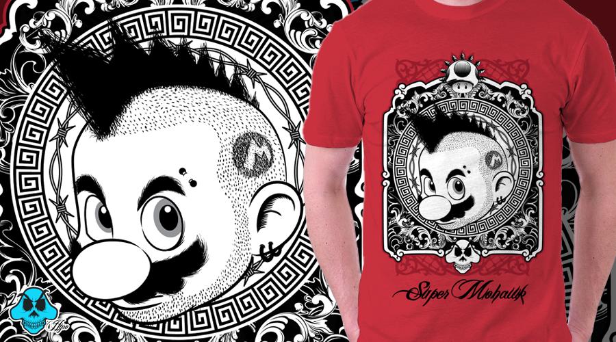 Download Super Mario T Shirt By Ehyro On Deviantart Mario And Luigi T Shirt Mens Graphic Tshirt