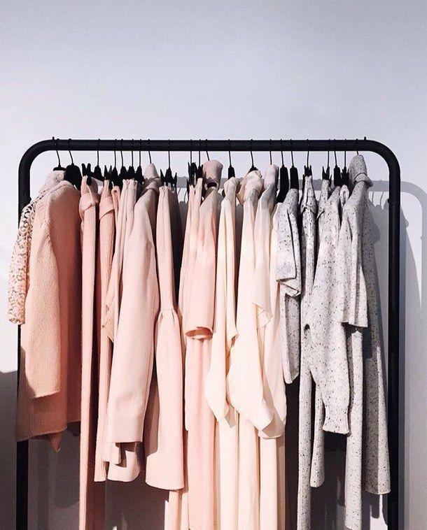 Etonnant Aesthetic, Black, Closet, Clothes, Coat, Cold, Design, Fashion, Girl,  Girly, Gray, House, Inspiration, Interior, Jacket, Neutral, Photography,  Pink, Rack, ...