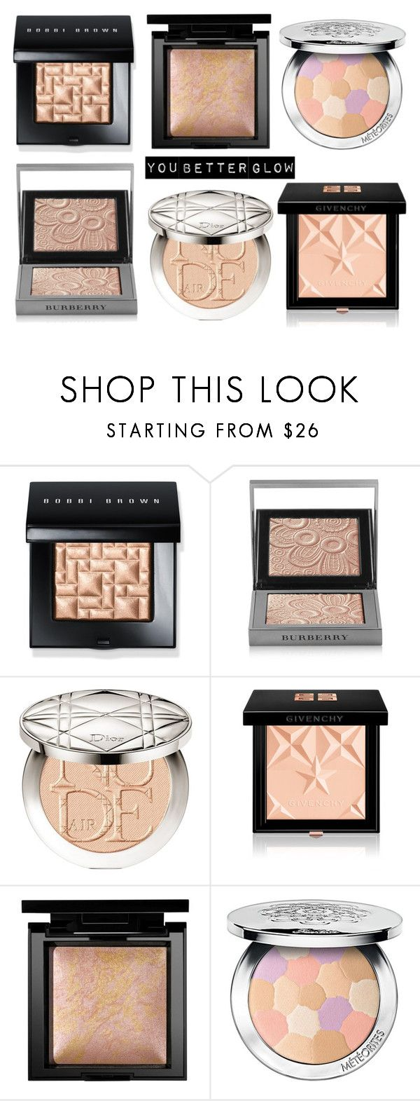 """Untitled #1216"" by diana-kulieva ❤ liked on Polyvore featuring beauty, Bobbi Brown Cosmetics, Burberry, Christian Dior, Givenchy, Bare Escentuals and Guerlain"