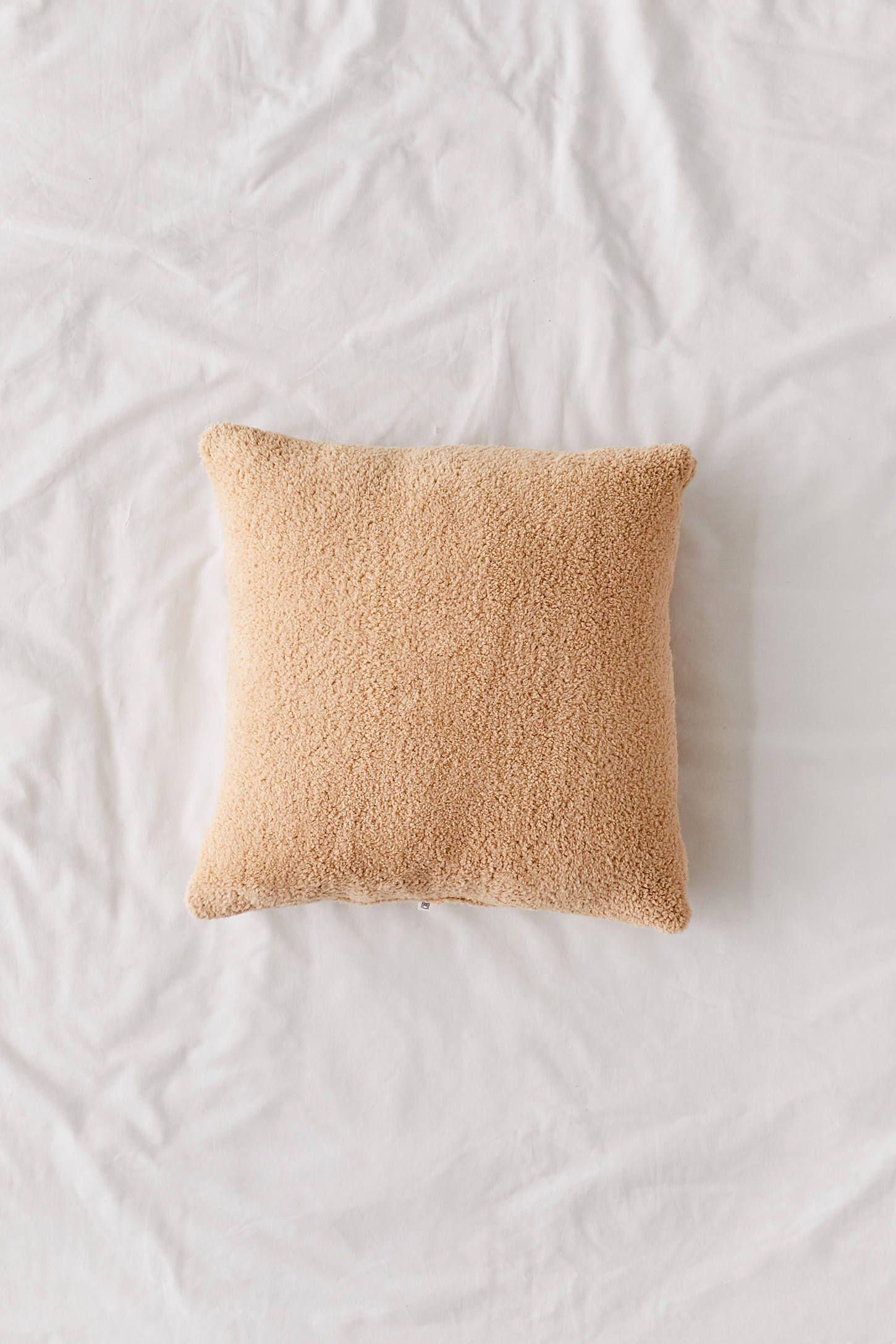 Sherpa Throw Pillow Throw Pillows Sherpa Throw Plush Throw Pillows
