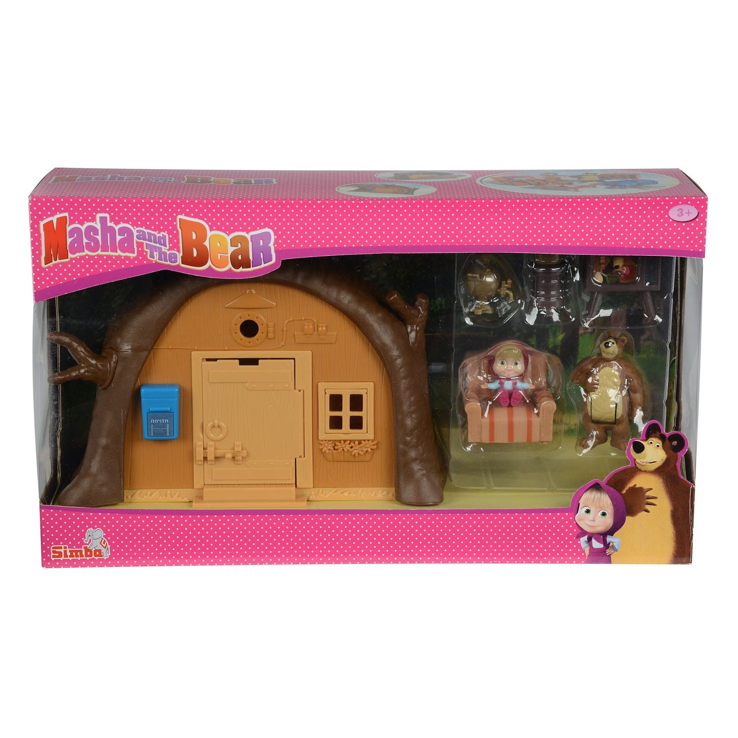 Masha and the Bear Playset Beer's House – SpeelgoedFamilie.nl