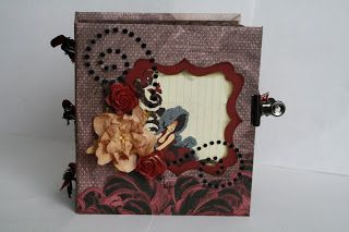 scrap for memories: mini album for a swap i joined at LSH