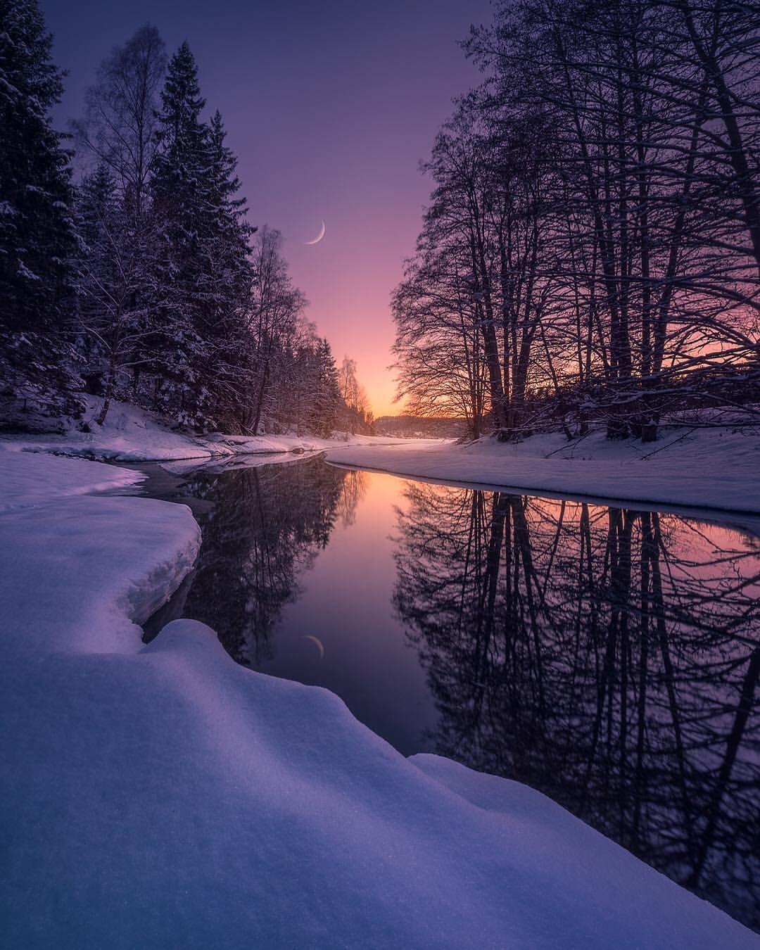 Hans Gunnar Aslaksen Is A Multi Talented Photographer Graphic Designe Landscape Photography Nature Winter Landscape Photography Mountain Landscape Photography