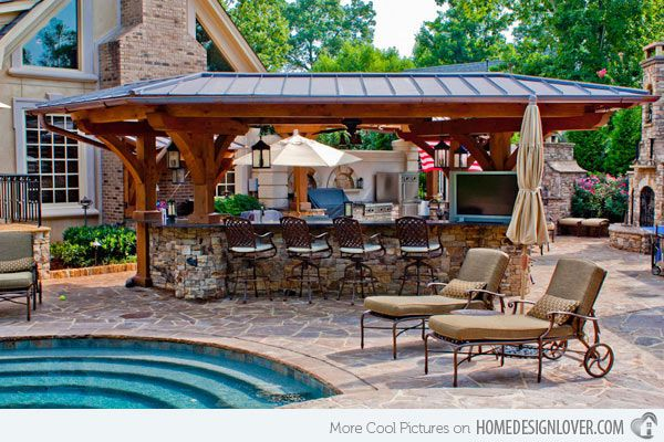 Outdoor Kitchens Ideas Vinyl Kitchen Backsplash 15 Designs For A Great Cooking Aura Projects To Home Design