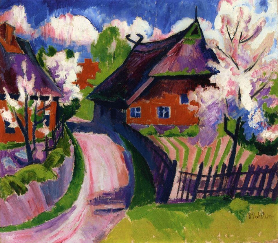 Hermann Max Pechstein (1881-1955) - Springtime (1919)
